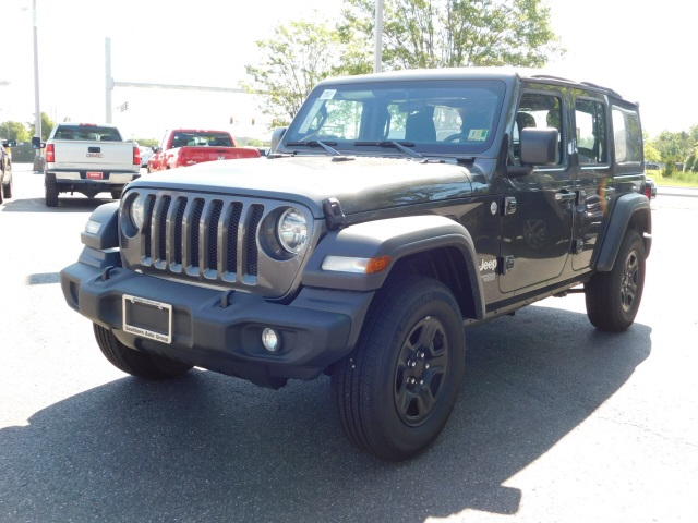 Certified Pre-Owned 2018 Jeep Wrangler Unlimited Sport